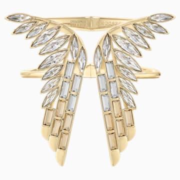 Wonder Woman 闊手鐲, 金色, 鍍金色色調 - Swarovski, 5535588