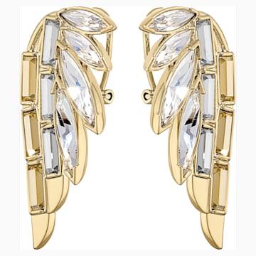 Wonder Woman 穿孔耳环, 金色, 镀金色调 - Swarovski, 5535589