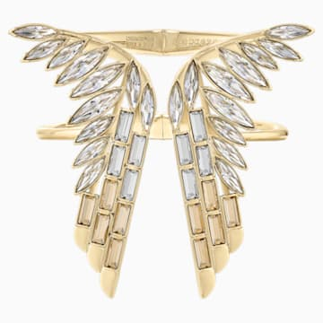 Wonder Woman karperec, arany árnyalat, arany árnyalatú bevonattal - Swarovski, 5535606
