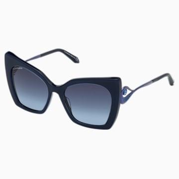 Occhiali da sole Tigris, SK0271-P 90W, blu - Swarovski, 5535793