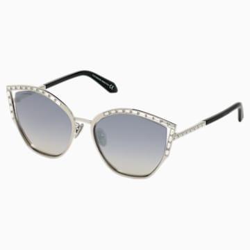 Fluid Sunglasses, SK0274-P-H 16C, Grey - Swarovski, 5535795