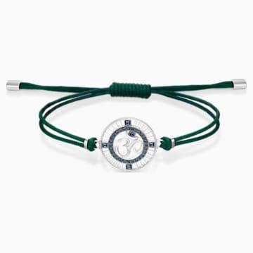 Braccialetto Sand, verde, acciaio inossidabile - Swarovski, 5535909