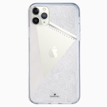 Husă cu protecție pentru smartphone Subtle, iPhone® 11 Pro Max, nuanță argintie - Swarovski, 5536849