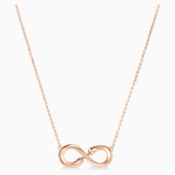 此爱永恒18K玫瑰金钻石项链 - Swarovski, 5538158