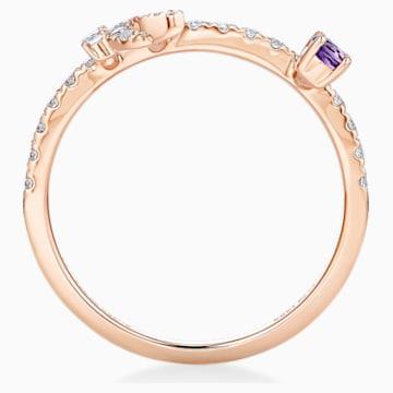 18K RG Dia Moon Ring (Ame) - Swarovski, 5538166