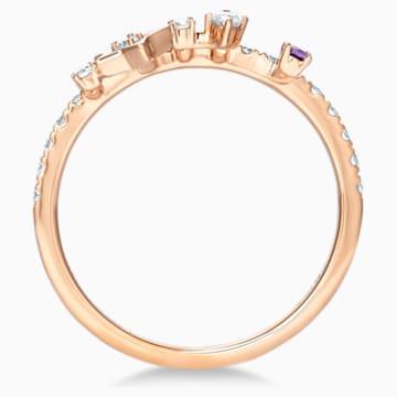 18K RG Dia Stars Ring (Ame) - Swarovski, 5538169