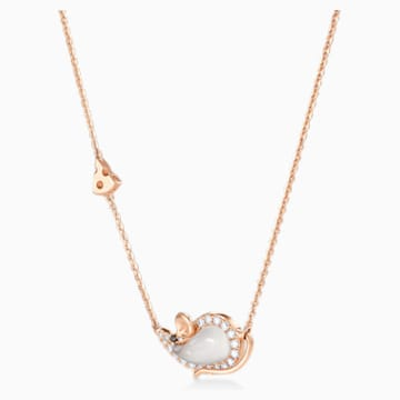 18K RG Zodiac Mouse Necklace - Swarovski, 5538172
