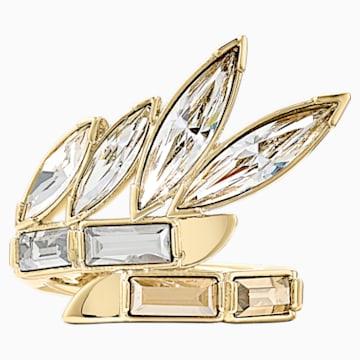 Prsten Wonder Woman, zlatý, pozlacený - Swarovski, 5538412