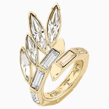 Prsten Wonder Woman, zlatý, pozlacený - Swarovski, 5538417