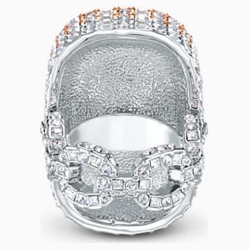 Eternal Ring, White, Mixed metal finish - Swarovski, 5538823