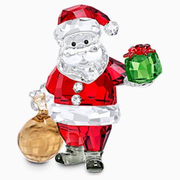 Święty Mikołaj z workiem prezentów - Swarovski, 5539365