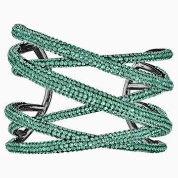 Tigris Armreif, grün, rutheniert - Swarovski, 5540375