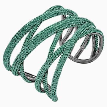 Tigris Armreif, grün, rutheniert - Swarovski, 5540380