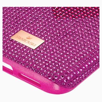 Crystalgram Heart 智能手機防震保護套, iPhone® 11 Pro Max, 粉紅色 - Swarovski, 5540722