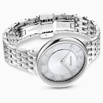 Ceas Crystalline Chic, brățară de metal, nuanță argintie, oțel inoxidabil - Swarovski, 5544583