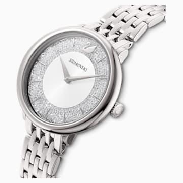 Crystalline Chic Uhr, Metallarmband, silberfarben, Edelstahl - Swarovski, 5544583