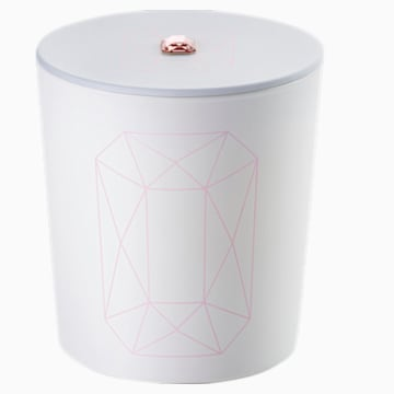 Crystal Garden Kerze, rosa, Pink Jasmin - Swarovski, 5547117