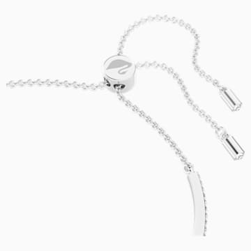 Iconic Swan-armband, Blauw, Rodium-verguld - Swarovski, 5549312