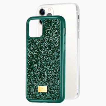 Glam Rock Koruyuculu Akıllı Telefon Kılıf, iPhone® 11 Pro, Yeşil - Swarovski, 5549939