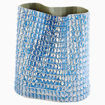 Brillo Vessel, Medium, Blue - Swarovski, 5550452
