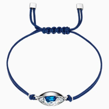 Pulsera Swarovski Power Collection Evil Eye, azul, acero inoxidable - Swarovski, 5551804