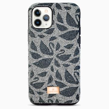 Swarovski Swanflower 智能手机防震保护套, iPhone® 11 Pro, 黑色 - Swarovski, 5552794