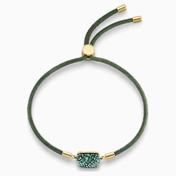 Braccialetto Swarovski Power Collection Earth Element, verde, placcato color oro - Swarovski, 5558350