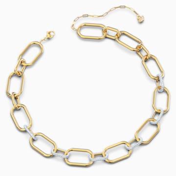 Time Halskette, weiss, Metallmix - Swarovski, 5558521