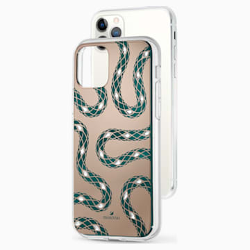 Coque rigide pour smartphone avec cadre amortisseur Theatrical, iPhone® 11 Pro, vert - Swarovski, 5558712