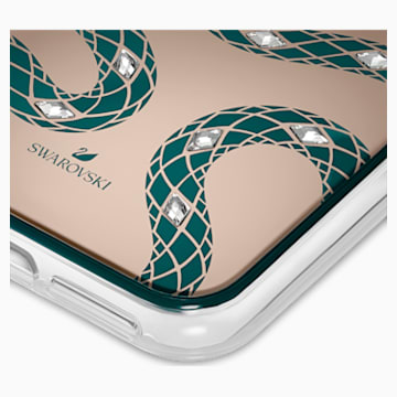 Theatrical Smartphone case with bumper, iPhone® 11 Pro, Green - Swarovski, 5558712