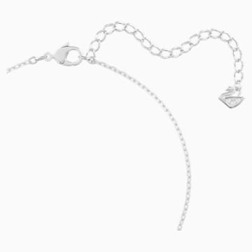 Collar Angelic, azul, baño de rodio - Swarovski, 5559381