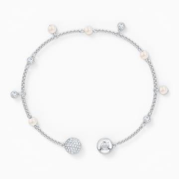 Swarovski Remix Collection Delicate Pearl Strand, Beyaz, Rodyum kaplama - Swarovski, 5560661