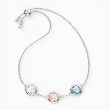 Tahlia 手链, 镀铑 - Swarovski, 5560937