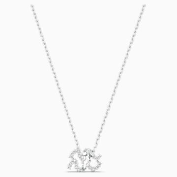 Zodiac II Anhänger, Wassermann, weiss, Metallmix - Swarovski, 5561421