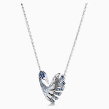 18K WG Waltz Swan Necklace - Swarovski, 5562277