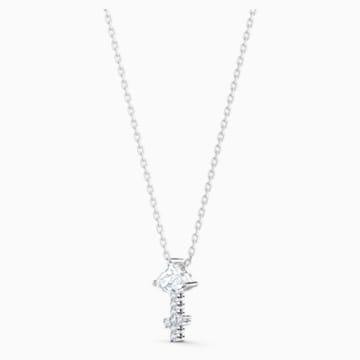 Zodiac II Kolye Ucu, Yay, Beyaz, Karışık metal bitiş - Swarovski, 5563897