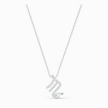 Přívěsek Zodiac II, Štír, bílý, smíšená kovová úprava - Swarovski, 5563898
