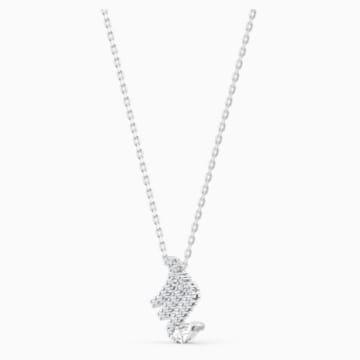 Pendentif Zodiac II, Scorpion, blanc, finition mix de métal - Swarovski, 5563898
