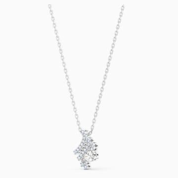 Zodiac II Подвеска, Дева, Белый Кристалл, Отделка из разных металлов - Swarovski, 5563899