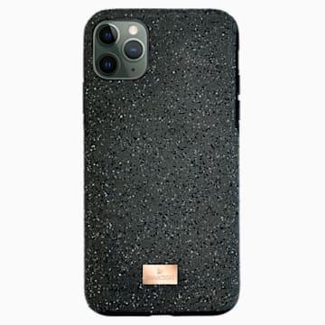 High Smartphone 套, iPhone® 12/12 Pro, 黑色 - Swarovski, 5565185