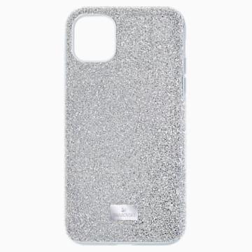 High Smartphone 套, iPhone® 12/12 Pro, 银色 - Swarovski, 5565202