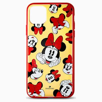 Coque rigide pour smartphone avec cadre amortisseur Minnie, iPhone® 11 Pro Max - Swarovski, 5565209