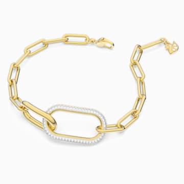 Time Armband, weiss, Metallmix - Swarovski, 5566003