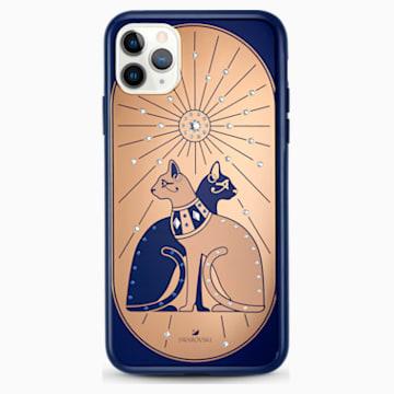 Husă Theatrical Cat pentru smartphone, cu protecție, iPhone® 11 Pro Max, multicoloră - Swarovski, 5566446