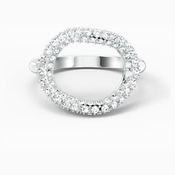 Δαχτυλίδι The Elements Air, λευκό, επιροδιωμένο - Swarovski, 5567357