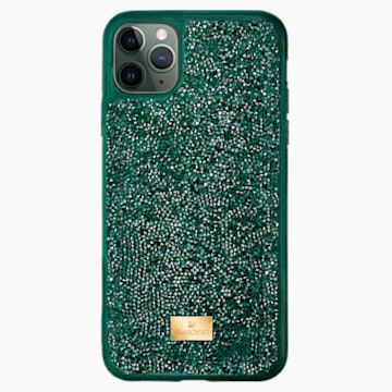 Glam Rock Smartphone 套, iPhone® 12 Pro Max, 绿色 - Swarovski, 5567940