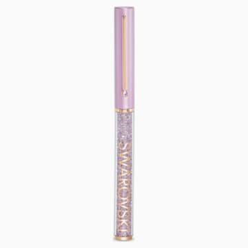 Crystalline Gloss Ballpoint Pen, Purple, Rose-gold tone plated - Swarovski, 5568764