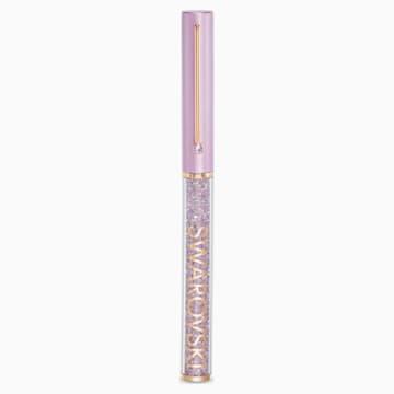 Crystalline Gloss-balpen, Paars, Roségoudkleurige toplaag - Swarovski, 5568764