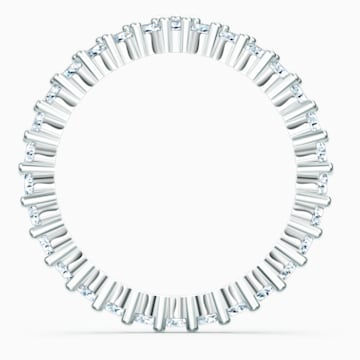 Vittore-V-ring, Wit, Rodium-verguld - Swarovski, 5569171