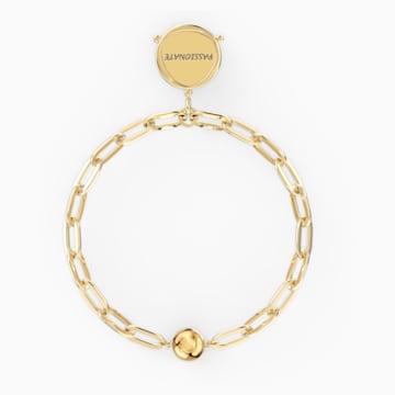 The Elements Sun Armband, weiss, vergoldet - Swarovski, 5569190